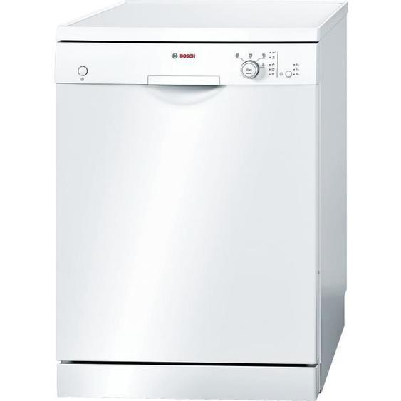 Lave-vaisselle pose libre BOSCH SMS24AW05E Série 2 - 12 couverts - Largeur 60 cm - Classe A+ - 48dB - Blanc