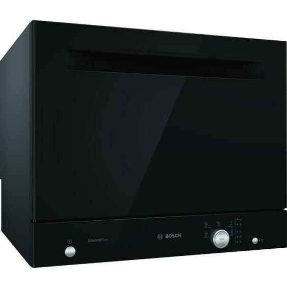 Lave-vaisselle compact pose libre BOSH SKS51E36EU Série 2 - 6 couverts - Largeur 55 cm - Classe A+ - 49 dB - Noir