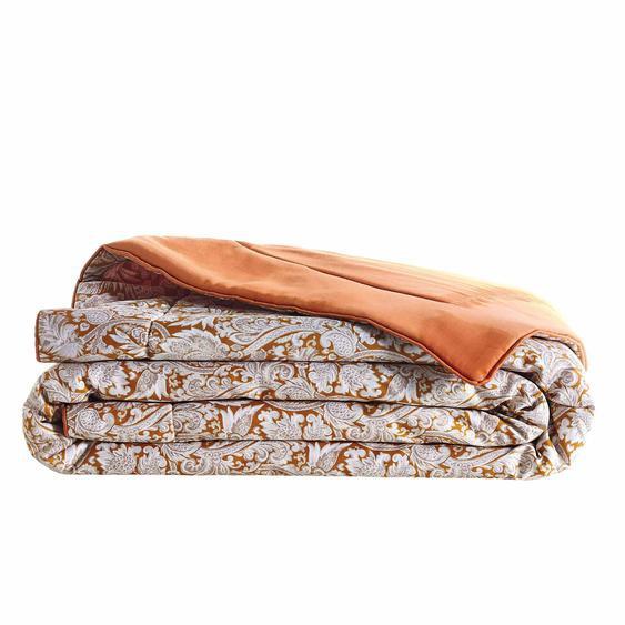 Bout de lit SAUVAGE en satin de coton