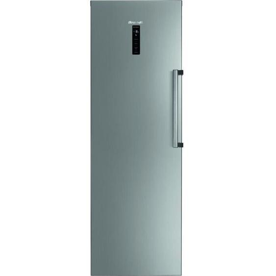 BRANDT BFU862YNX - Congélateur Armoire - 262L - No Frost - A++ - L 59,5 x H 185 cm - Inox