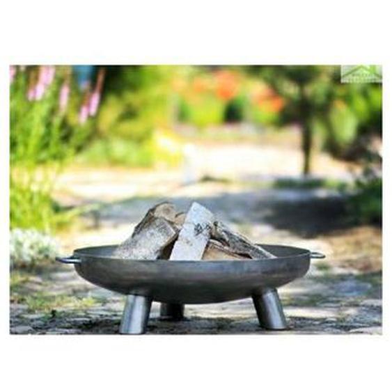 Farm Cook - Brasero de jardin BALI en acier - Avec couvercle - Avec couvercle