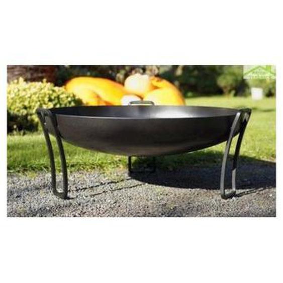 Brasero de jardin PAN au charbon - Avec couvercle - Avec couvercle - FARM COOK