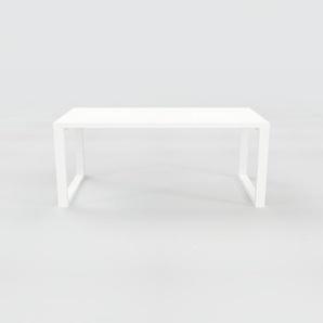 Bureau - Blanc, design contemporain, table de travail, fonctionnelle - 180 x 75 x 90 cm, modulable