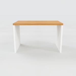 Bureau - Chêne, design contemporain, table de travail, fonctionnelle - 120 x 75 x 70 cm, modulable