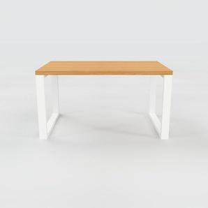Bureau - Chêne, design contemporain, table de travail, fonctionnelle - 140 x 75 x 90 cm, modulable