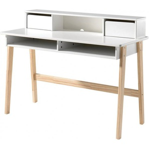 Bureau enfant 2 tiroirs 2 niches - KIDDY