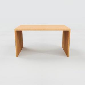 Bureau - Hêtre, design contemporain, table de travail, fonctionnelle - 140 x 75 x 90 cm, modulable