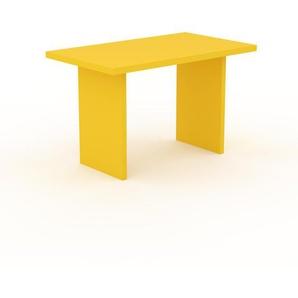 Bureau - Jaune, design contemporain, table de travail, fonctionnelle - 120 x 75 x 70 cm, modulable