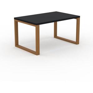 Bureau - Noir, design contemporain, table de travail, fonctionnelle - 140 x 75 x 90 cm, modulable