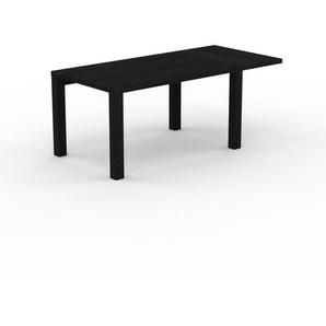 Bureau - Wengé, contemporain, table de travail sophistiquée, avec cadre Wengé - 190 x 76 x 90 cm, modulable