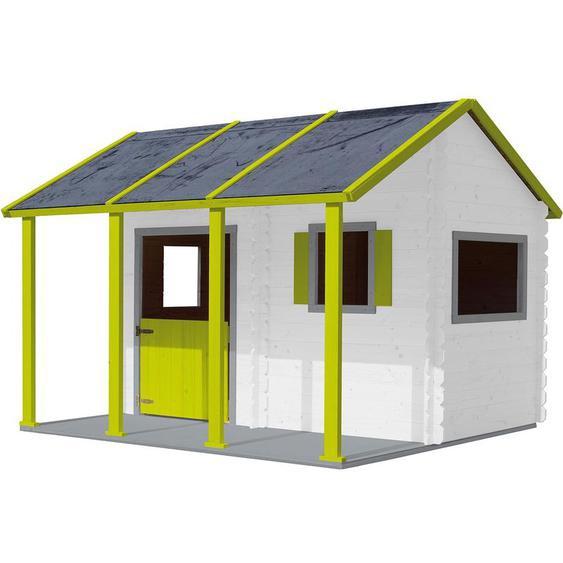 Cabane en bois avec pergola pour enfant - Constance - SOULET