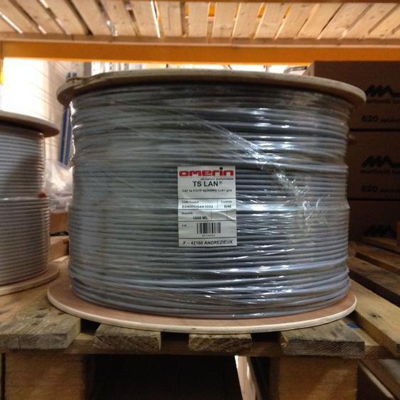 Câble Catégorie 5e FTP 100Mhz 1000m - OMERIN
