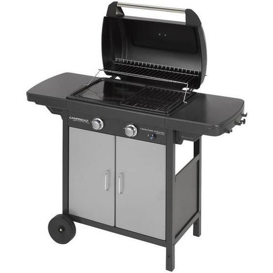 CAMPINGAZ Barbecue 2 Series Classic LX Plus Vario - acier émaillé - grille 50% et plancha 50% - 60 x 35 cm