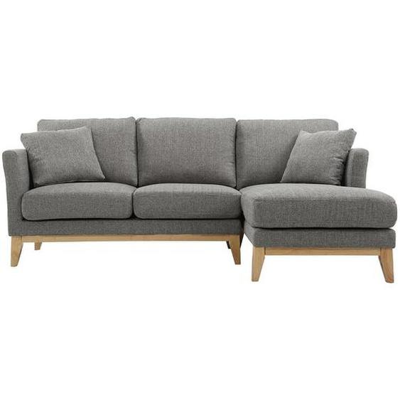 Canapé dangle droit scandinave gris clair déhoussable OSLO