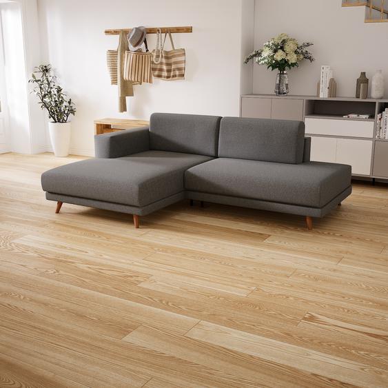 Canapé dangle - Gris Clair, design épuré, canapé en L ou angle, élégant avec méridienne ou coin - 224 x 75 x 162 cm, modulable