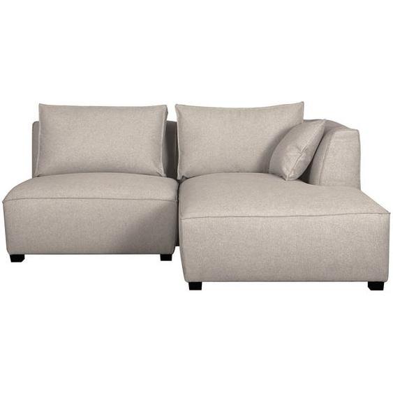 Canapé dangle modulable beige 2 éléments PLURIEL