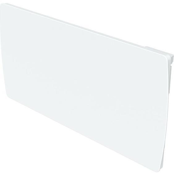 radiateur à inertie fonte 2000W verre blanc LCD - Cayenne