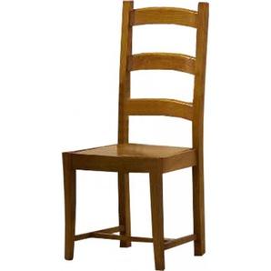 Chaise chêne massif rustique