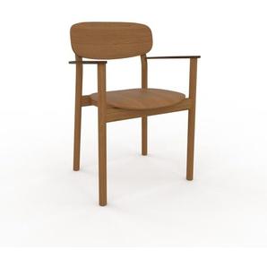 Chaise de salle à manger Chêne de 52 x 82 x 58 cm au design unique, configurable