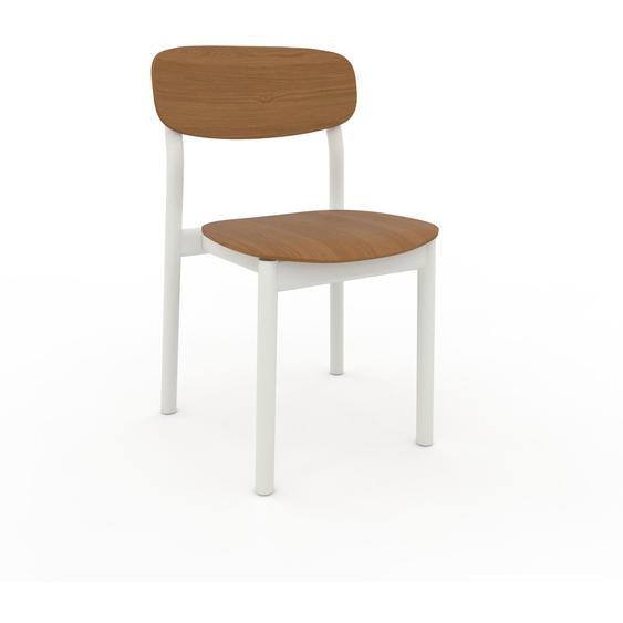 Chaise en bois Chêne de 52 x 82 x 49 cm au design unique, configurable