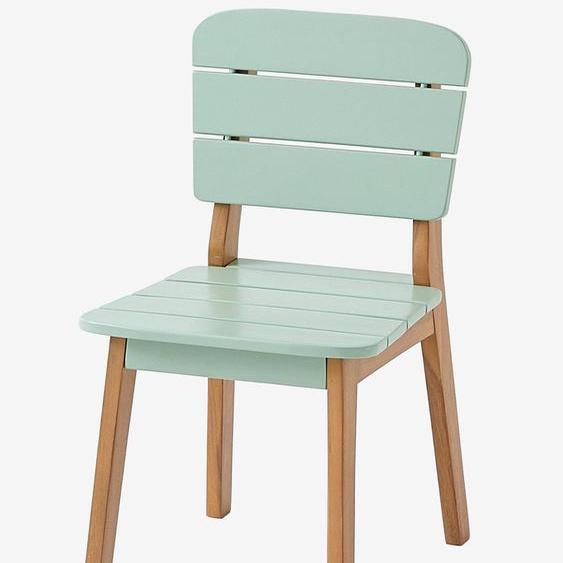 Chaise maternelle outdoor/indoor Tropicool sauge
