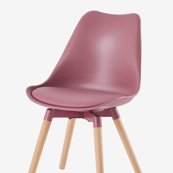 Chaise primaire Alix rose framboise