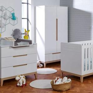 Chambre bébé complète Evidence Blanc & Hêtre