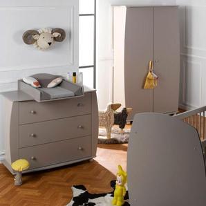 Chambre bébé complète lit 70x140 Médéa Sable & Lin