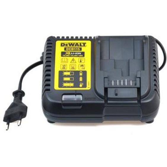 Chargeur de batteries XR 10V/14V/18V en boite carton - DEWALT - DCB115