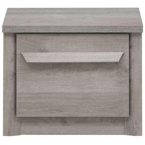 Chevet 1 tiroir EDEN coloris chêne gris