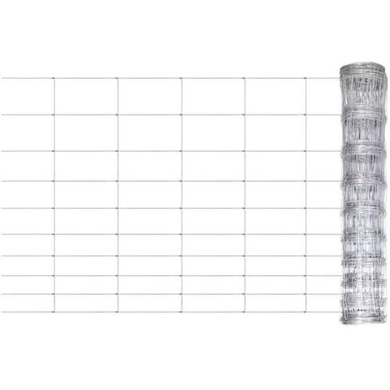 Clôture de jardin Acier galvanisé 50 m 120 cm
