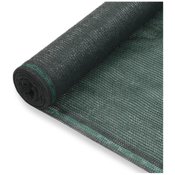 Zqyrlar - Clôture de tennis PEHD 1,6 x 100 m Vert