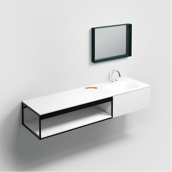 Clou Frame Tablette murale 110cm Blanc mat CL/07.61.011.55