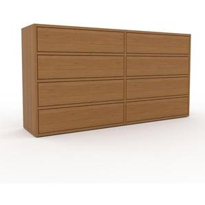 Commode - Chêne, pièce de caractère, sophistiquée, avec tiroir Chêne - 152 x 80 x 35 cm, personnalisable