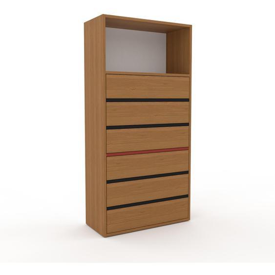 Commode - Chêne, pièce de caractère, sophistiquée, avec tiroir Chêne - 77 x 157 x 35 cm, personnalisable