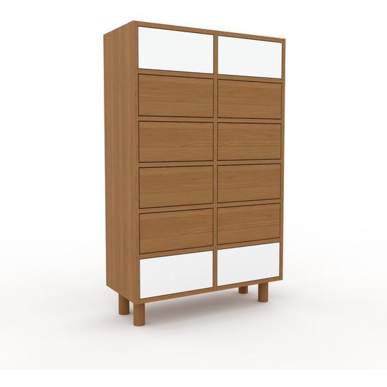 Commode - Chêne, pièce de caractère, sophistiquée, avec tiroir Chêne - 79 x 130 x 35 cm, personnalisable