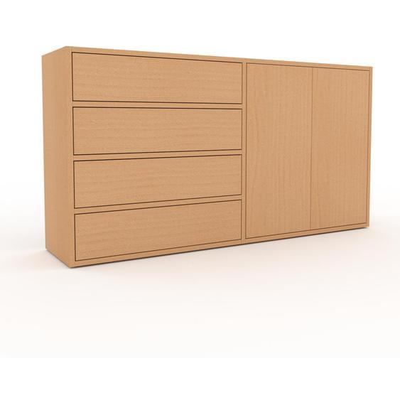 Commode - Hêtre, moderne, raffinée, avec porte Hêtre et tiroir Hêtre - 152 x 80 x 35 cm