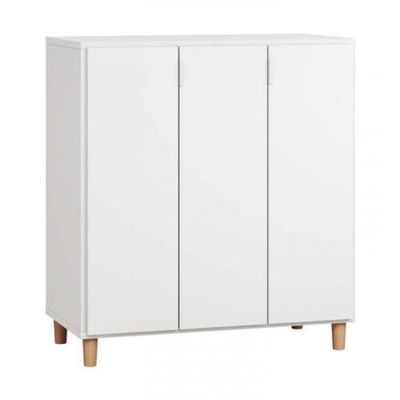 Commode SIMPLE couleur blanc - .fr
