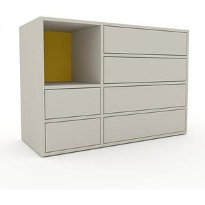 Commode - Vert de gris, pièce de caractère, sophistiquée, avec tiroir Vert de gris - 116 x 80 x 47 cm, personnalisable