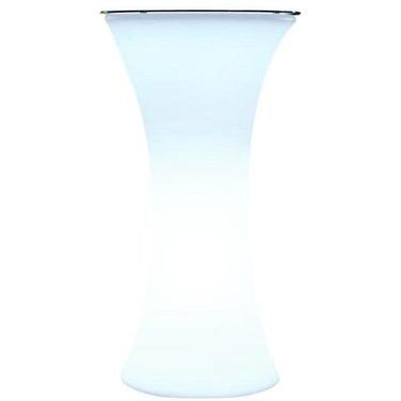 Comptoir bar lumineux sans fil LED multicolore dimmable BAR PARTY H110cm avec télécommande