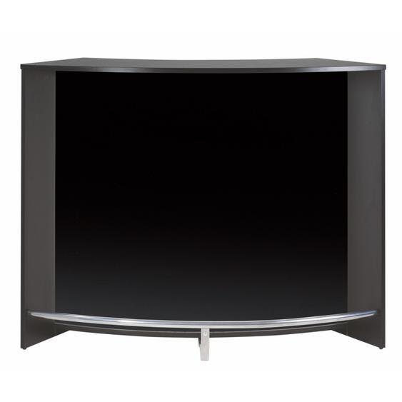 Comptoir dAccueil 2 Portes Noir 135 cm