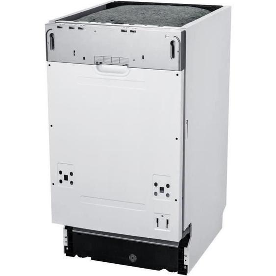 CONTINENTAL EDISON Lave vaisselle tout intégrable - 10 couverts - 47 dB - A+ - Larg 45 cm