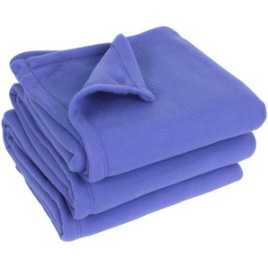Couverture polaire 240x300 cm 100% Polyester 350 g/m2 TEDDY violet Liberty