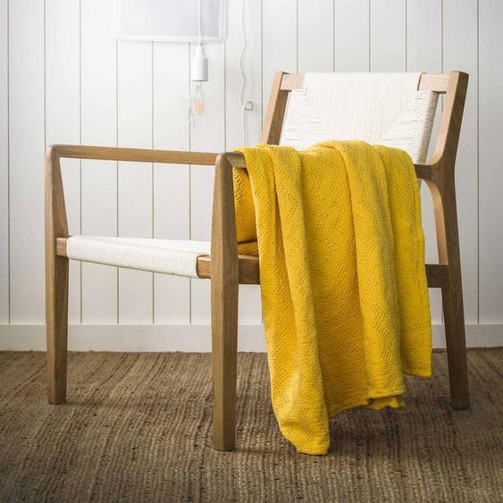 Couvre lit MALO en coton lavé en promotion