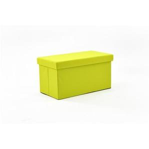 Cuba - Pouf Coffre Pliant Vert