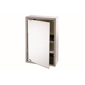 Differnz armoire miroir 51x38x18cm Aluminium Blanc 36.013.00