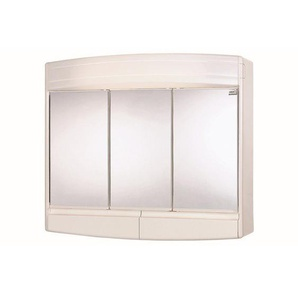 Differnz armoire miroir 60x53x18cm Plastique Blanc 36.403.00