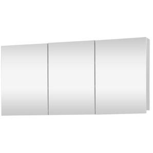 Differnz Brida Armoire de toilette 50x100x15cm 3 portes blanc 36.008.02