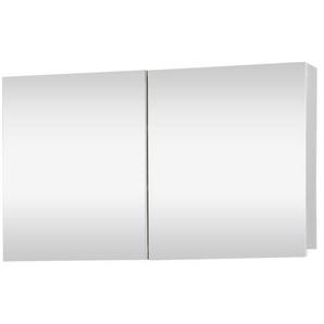 Differnz Brida Armoire de toilette 50x85x15cm 2 portes blanc 36.008.01