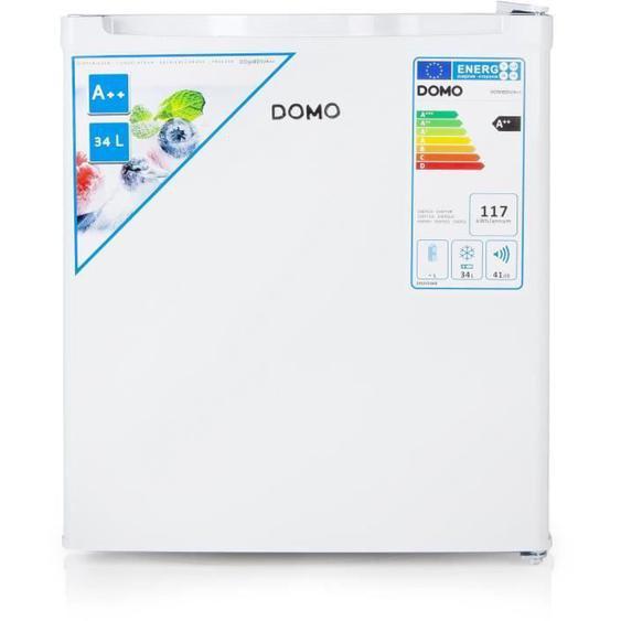 DOMO DO908DV/A++ - Congélateur Cube - 34L - Froid Statique - A++ -  L 44 x H 51 cm - Blanc
